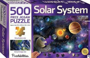 Puzzlebilities 500 Piece Jigsaw Puzzle: Solar System