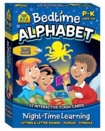 School Zone Interactive Flash Cards: Bedtime Alphabet