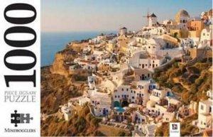Mindbogglers 1000 Piece Jigsaw: Santorini, The Greek Islands