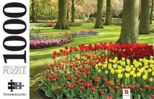 Mindbogglers 1000 Piece Jigsaw: Tulips In The Keukenhof Gardens, Holland by Various