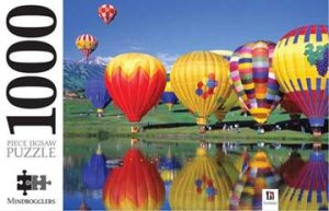 Mindbogglers 1000 Piece Jigsaw: Snowmass Village Balloon Festival, Colorado