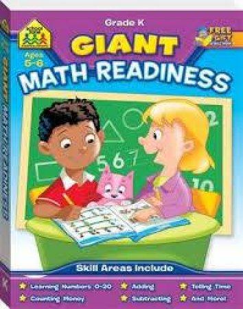 School Zone Giant Workbooks Maths