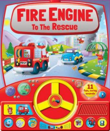 Fire Engine to the Rescue Steering Wheel Sound Board by Various