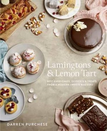 Lamingtons And Lemon Tart