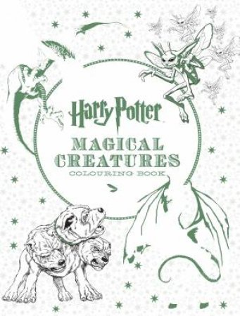 Harry Potter: Magical Creatures Colouring Book 2