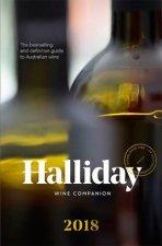 Halliday Wine Companion 2018 by James Halliday