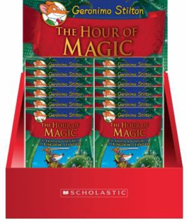 Geronimo Stilton Kingdom of Fantasy #8: The Hour of Magic 12 Copy Counter Pack by Geronimo Stilton