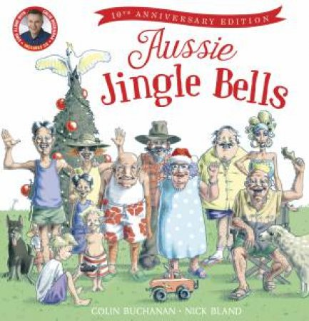 Aussie Jingle Bell + CDs (10th Anniversary Edition) by Colin Buchanan