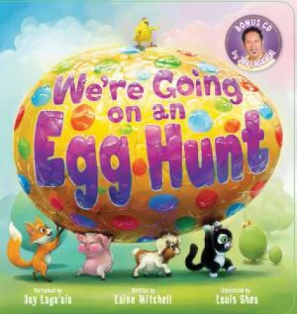 Were Going on an Egg Hunt (Board Book Plus CD) by Laine Mitchell