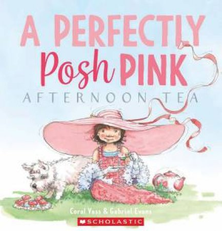 A Perfectly Posh Pink Afternoon Tea by Coral Vass