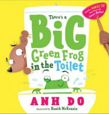 Theres A Big Green Frog In The Toilet + CD by Simon Mellor