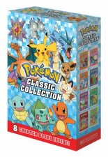 Pokemon Classic Collection 8 Book Boxed Set