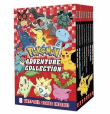 Pokemon Adventure Collection (8 Book Boxed Set) by Various