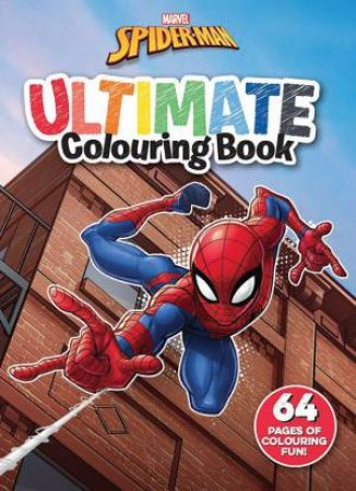 Spider Man: Ultimate Colouring Book by Various