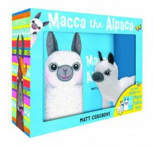 Macca The Alpaca Plush Boxed Set