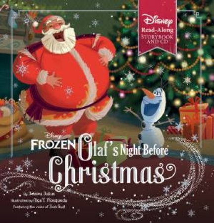 Disney Frozen: Olafs Night Before Christmas (With CD)