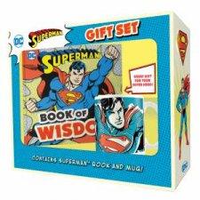Superman Book And Mug Gift Set DC Comics