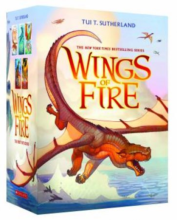 Wings Of Fire 1 To 5 Boxed Set by Tui T Sutherland