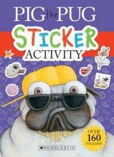 Pig The Pug Sticker Book
