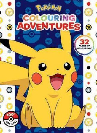 Pokemon: Colouring Adventures by Various