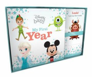 Disney Baby: Book And Milestone Cards: My First Year