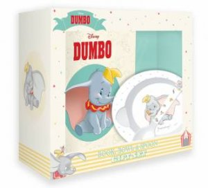 Disney: Dumbo: Book, Bowl And Spoon Gift Set