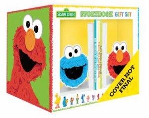 Sesame Street Storybook Gift Set With Gorgeous Book Ends by Various
