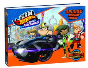 Deluxe Jigsaw Book: Team Hot Wheels: The Origin Of Awesome!