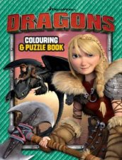 How to Train Your Dragon Colouring and Puzzle Book