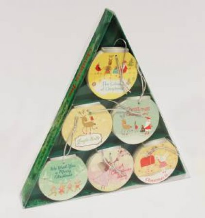 Christmas Tree-Shaped Box Of Books by Various