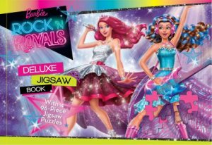 Deluxe Jigsaw Book: Barbie Rock'n Royals
