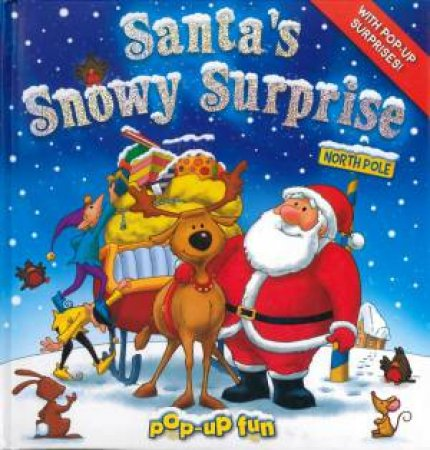 Santa's Snowy Surprise Pop Up Fun