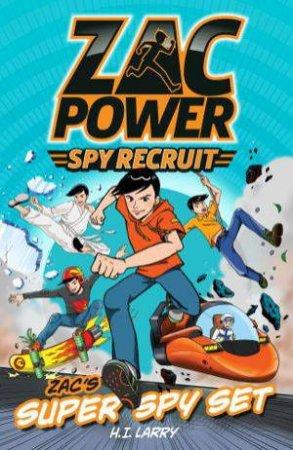 Zac Power Spy Recruit: Zac's Super Spy Set
