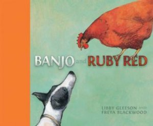 Banjo and Ruby Red Board Book