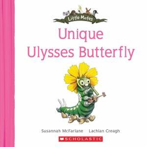 Unique Ulysses Butterfly