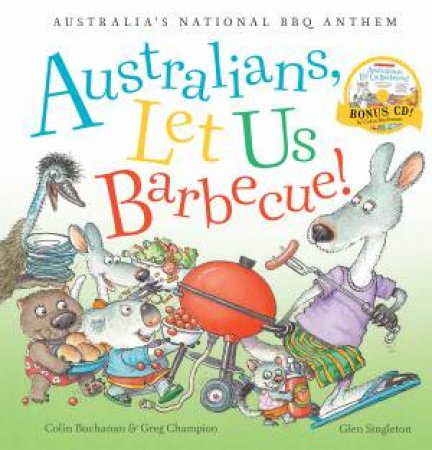 Australians, Let Us Barbecue! (with CD)