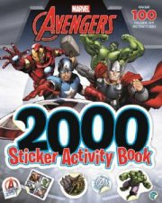 Avengers Marvel 2000 Sticker Activity Book