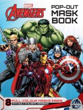 Marvel Avengers PopOut Mask Book