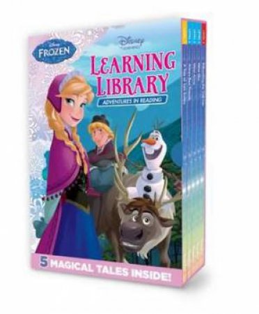 Disney Learning: Frozen: 5 Hardback Learning Library