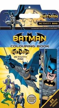 DC Comics Batman Activity Bag by Various