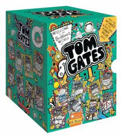 Tom Gates 8 Book Set
