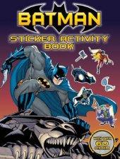 DC Comics Batman Sticker Activity Book