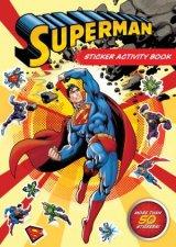 DC Comics Superman Sticker Activity Book