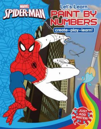 Marvel Learning: Spiderman: Paint By Numbers by Various