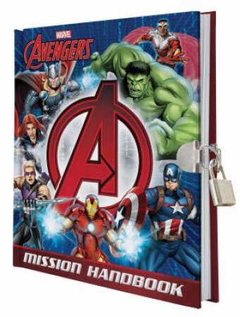Avengers Mission Handbook (with lock and key)