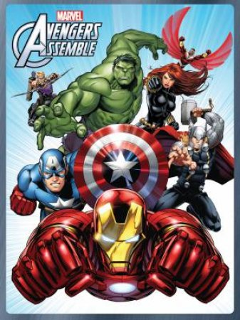 Marvels Avengers Assemble Activity Tin by Various