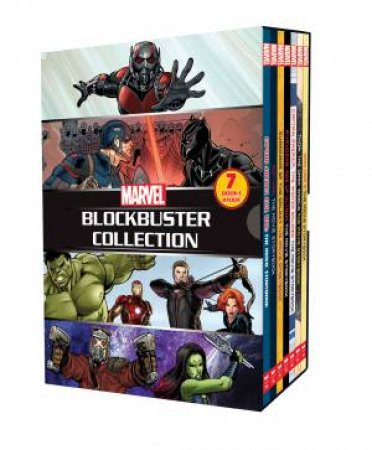 Marvel 7 Book BlockBuster Collection