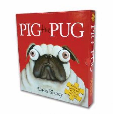 Pig The Pug (Paperback & Jigsaw Set) by Aaron Blabey