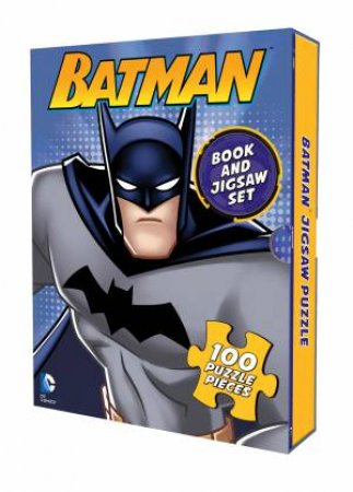 DC Comics: Batman: Book And Jigsaw Set by Various