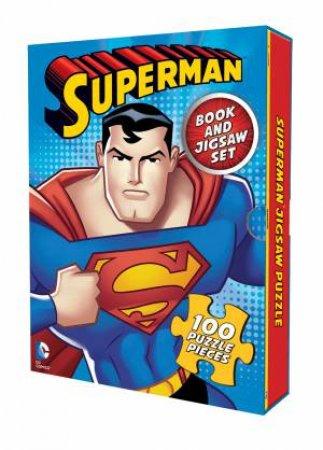 DC Comics: Superman: Book And Jigsaw Set by Various